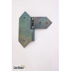 Dobradiça  Rustica 8 Cm / 7 Cm Modelo Losango - lado Esquerdo ou Direito