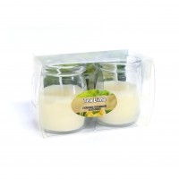 KIT C/2 VELAS MINI JARRO TEA LIME